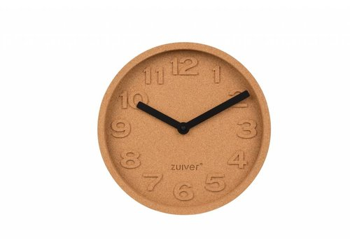Zuiver Cork Time wandklok