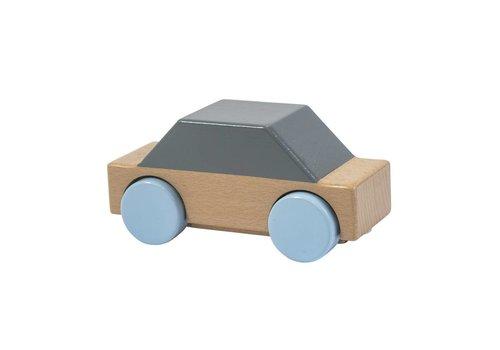 Sebra Houten auto grijs