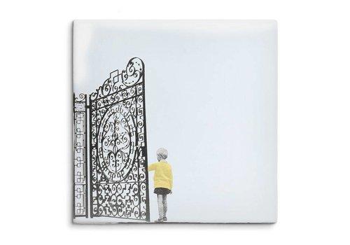 StoryTiles tegel De poort