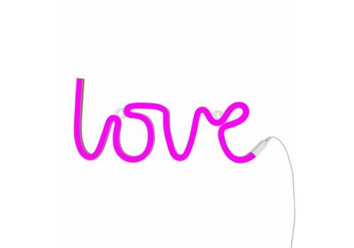 A little lovely company Neon stijl hanglamp Love