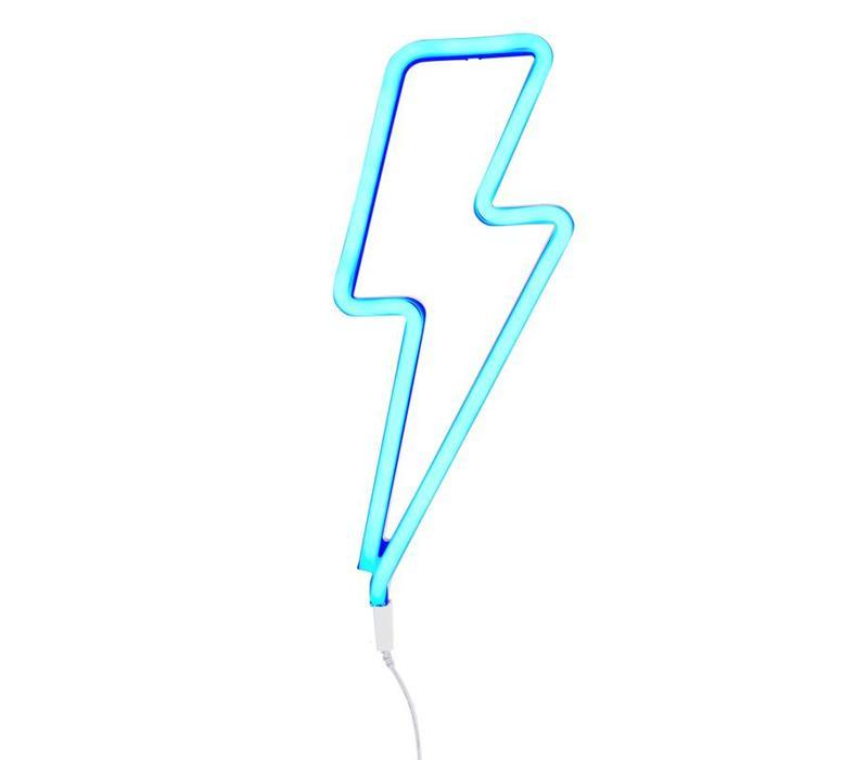 Neon stijl hanglamp Bliksem