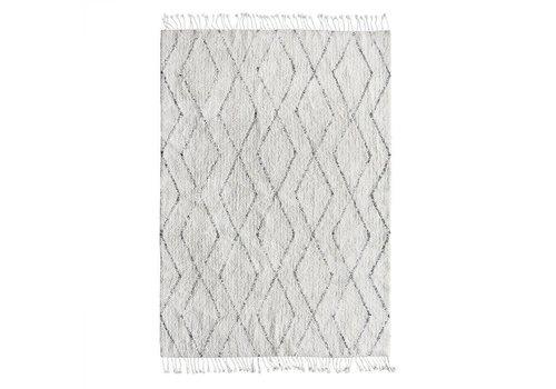 HK Living Katoenen berber tapijt 140 x 200 cm