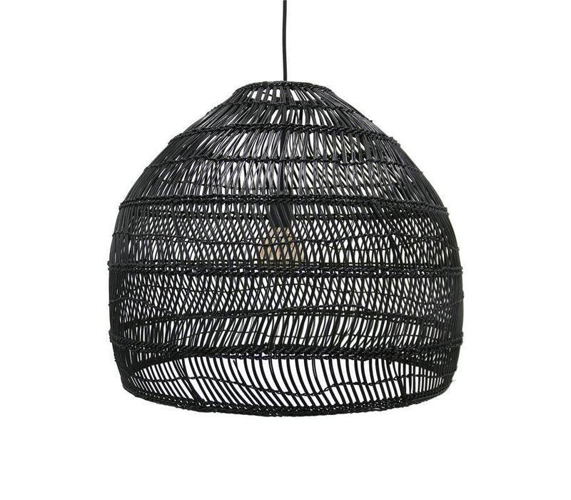 rieten hanglamp 60 cm
