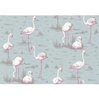 Flamingos behangpapier 1