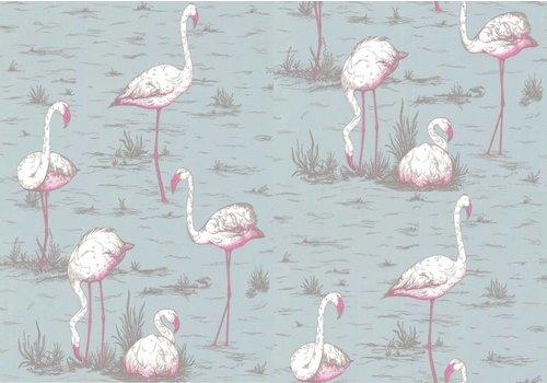 Cole & Son Flamingos behangpapier 1