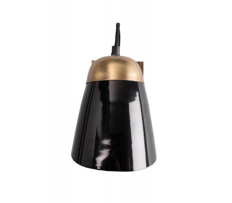 Old school wandlamp