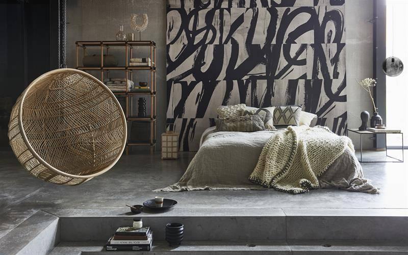 Hang Schommelstoel Tuin : Rotan hangstoel bal naturel bohemian vida design