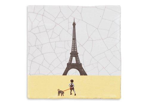 StoryTiles tegel Parijs