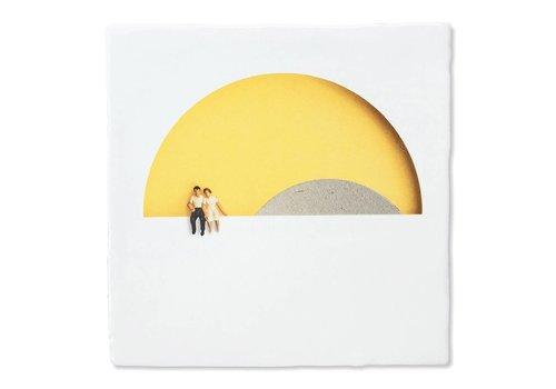 StoryTiles tegel Romantiek bij zonsondergang