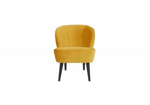 WOOOD Sara fauteuil fluweel