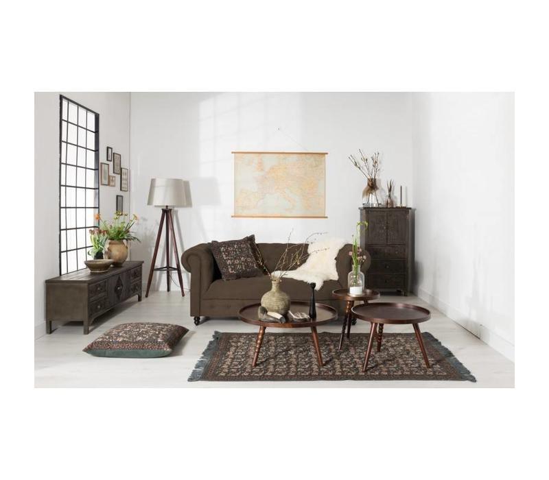 Indian Block tapijt 120x180 cm
