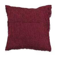 Kussen rood katoen 40 x 40 cm