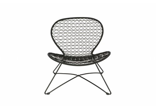 BePureHome Quadro fauteuil zwart