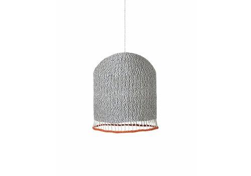 Ferm Living Braided lampshade lichtgrijs