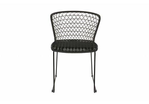 BePureHome Quadro stoel zwart - set van 2