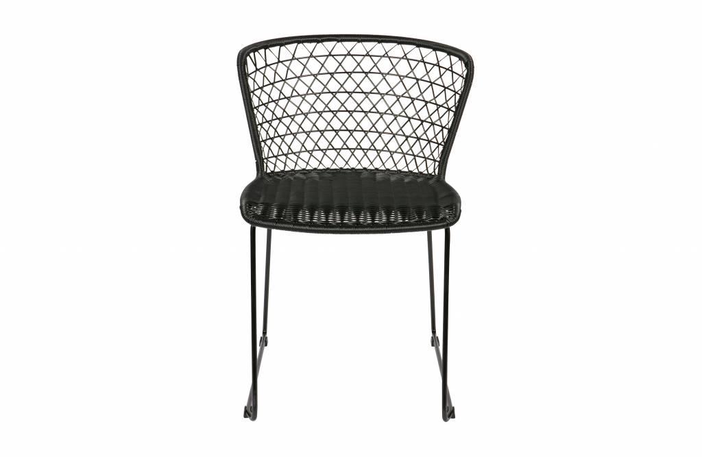 Be Pure Stoel : Bepurehome quadro stoel zwart set van vida design