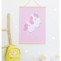 Poster baby eenhoorn