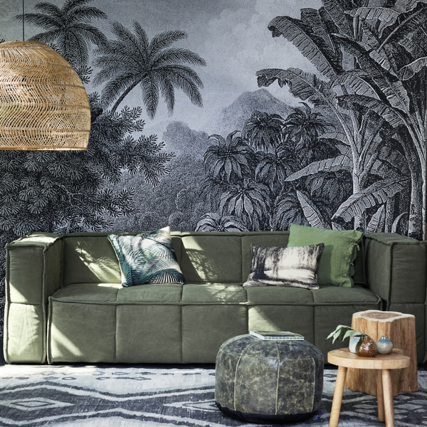 Wandkaart jungle xxl hk living