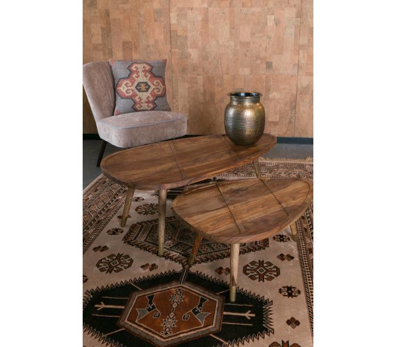 Sham salontafels (set van 2)