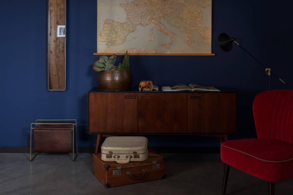 Spiegel Zwarte Lijst : Dutchbone spiegel zwarte omlijsting vida design