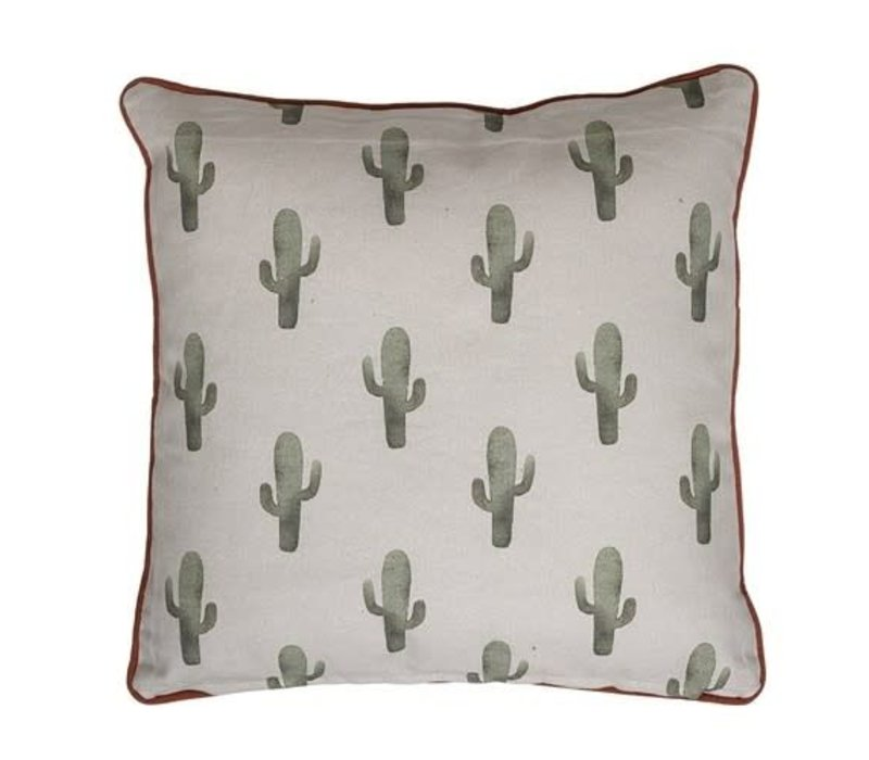 Cactus kussen, katoen
