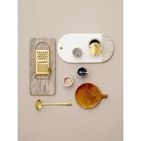 Snijplank marmer wit/beige