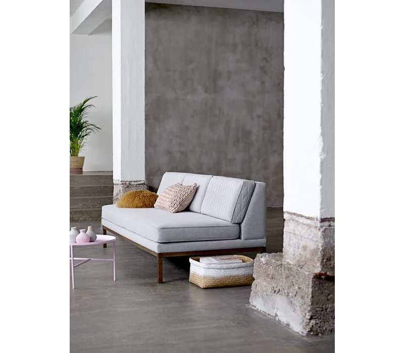 Settle lounge stoel