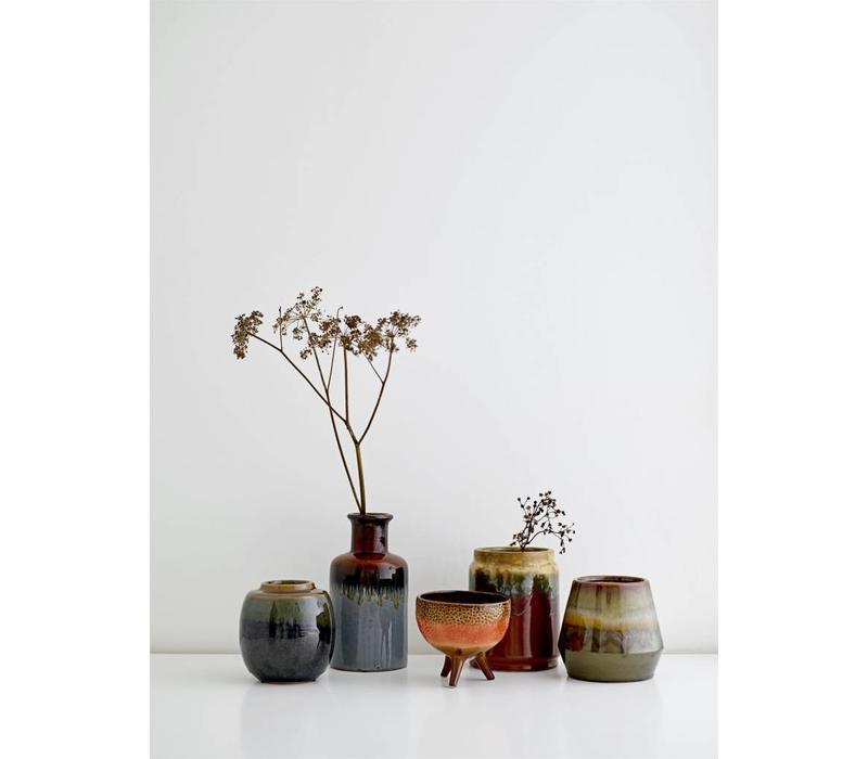 Vaas, keramiek - diverse kleuren