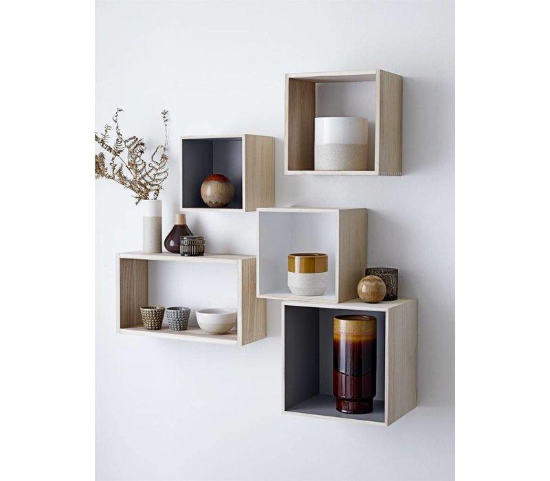 Display Boxes, Nature/Grey
