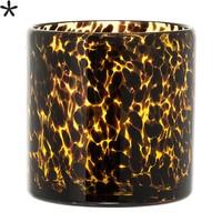 Bloempot amber/zwart
