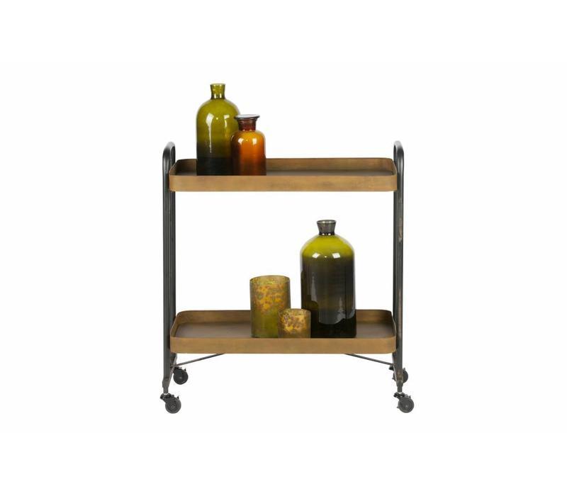 Rusty trolley metaal roest