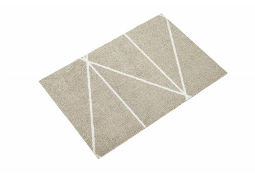 Mette Ditmer All-round mat triangle sand/white