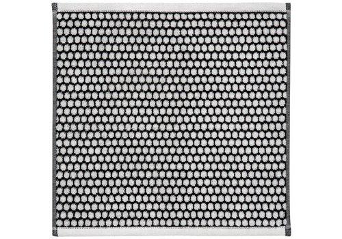 Mette Ditmer Gastendoekje black/off-white grid