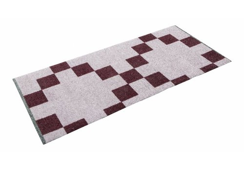 Mette Ditmer All-round mat quadrata wine