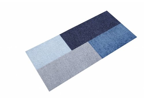 Mette Ditmer All-round mat Domino blue