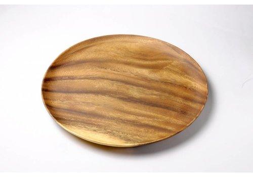 Kinta Houten bord dun 33 cm