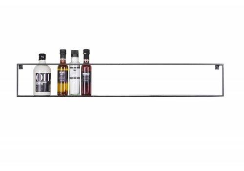 WOOOD Meert wandplank zwart 100cm