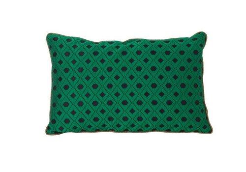 Ferm Living Mosaic Green kussen