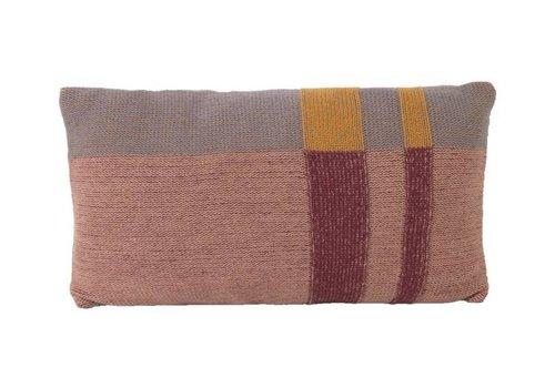 Ferm Living Medley Knit kussen small mint
