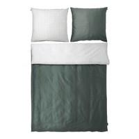 THREE bedding green