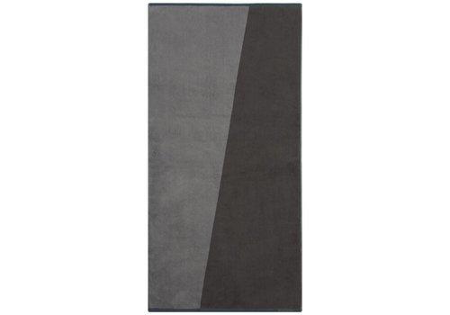 Mette Ditmer Badhanddoek Shades Grijs 70x140 cm