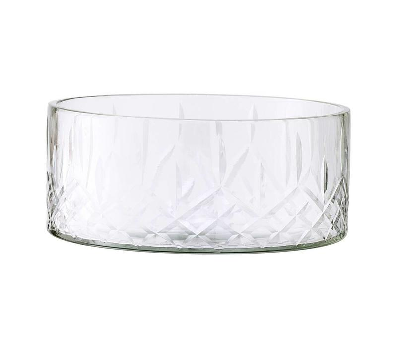 Kom helder glas 14.5xH6cm