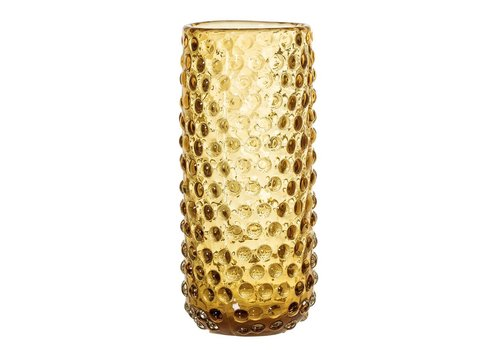 Bloomingville Bruine vaas glas