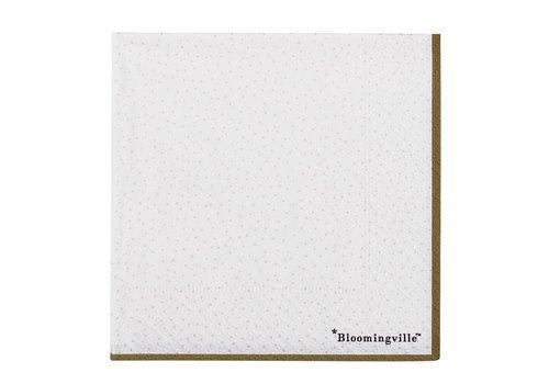 Bloomingville Servet natuur papier