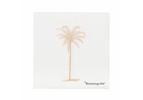 Bloomingville servet wit papier