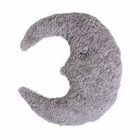 Maan kussen grijs