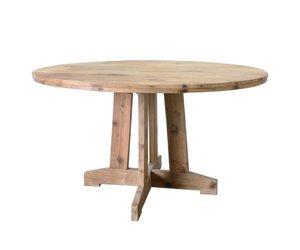Ronde teak tafel vida design