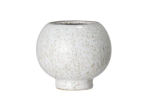 Bloomingville Bloempot in keramiek naturel Ø11 x H10 cm