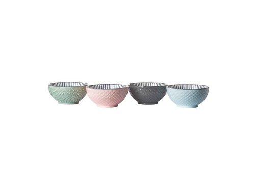 Pols Potten Colour scales kommetjes - Set van 4