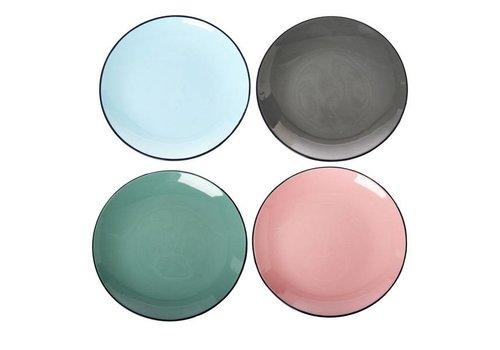 Pols Potten Colour scales borden - Set van 4